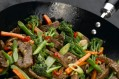 Tenderstem broccoli and chilli beef stirfry