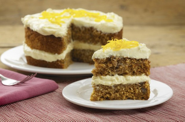 Carribean carrot cake