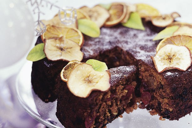 Dairy-free Christmas cake recipe