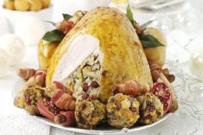 Phil Vickery's saffron turkey