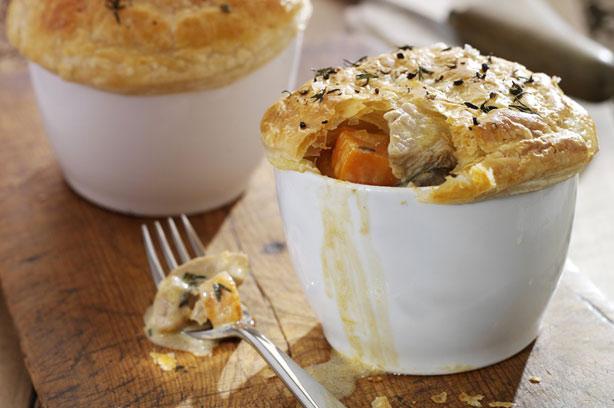 Phil Vickery's individual turkey and stilton pies recipe - goodtoknow