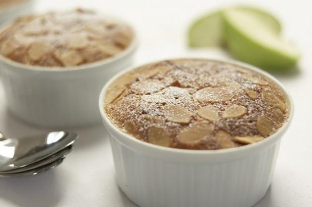 Gino Dacampo almond apple pies