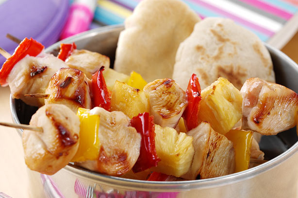 Chicken and pineapple kebabs recipes recipe - goodtoknow