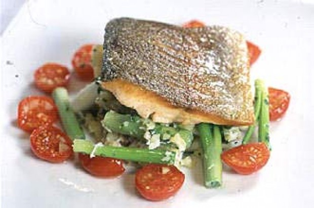 Gordon Ramsay's sea trout