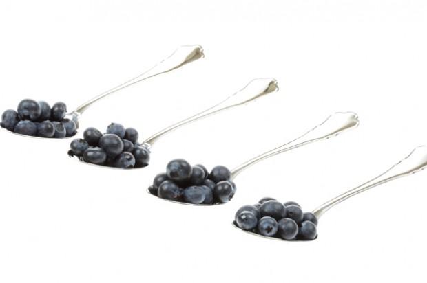Portion size blueberry