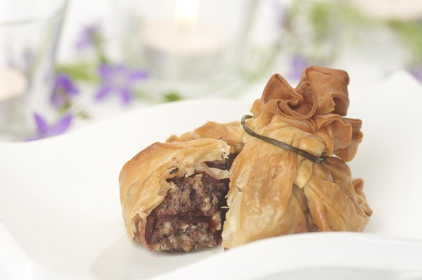 Parcel of haggis Burns Night recipe