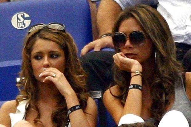 Cheryl Cole and Victoria Beckham