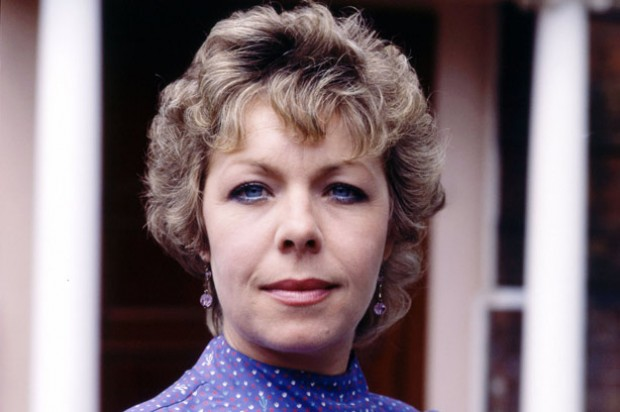 Photograph of Grange Hill headteacher Mrs McClusky_BBC