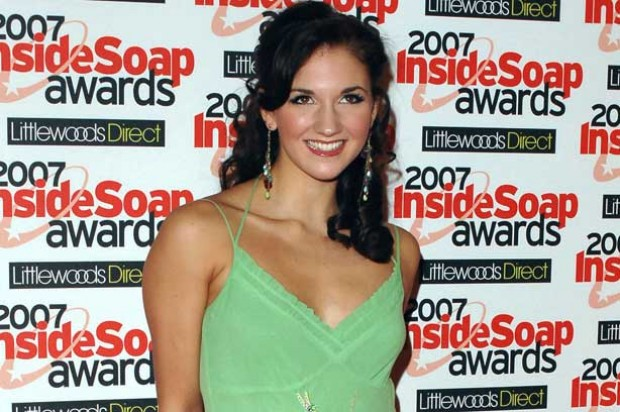 Summer Strallen at Soap awards_Rex