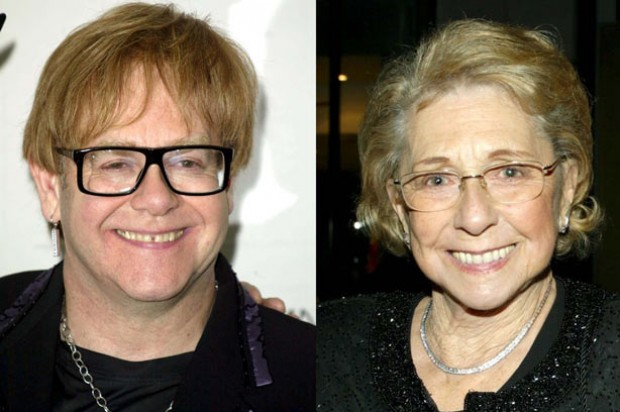 Elton John and his mother_Rex