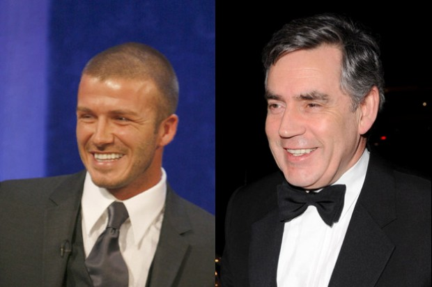 David Beckham and Gordon Brown_rex