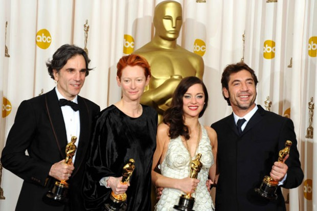 The Best and Supporting actor and actress Oscar award winners_rex
