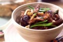 Chinese beef with mushrooms stir-fry