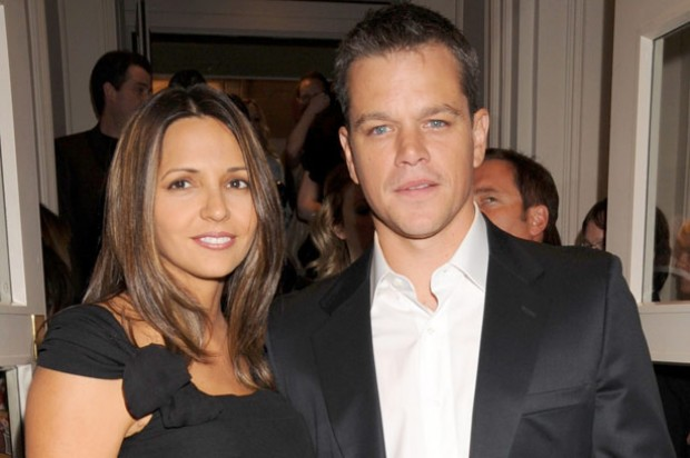 Matt Damon and Luciana_rex