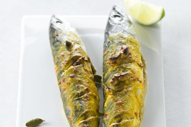 Spicy Indonesian grilled fish