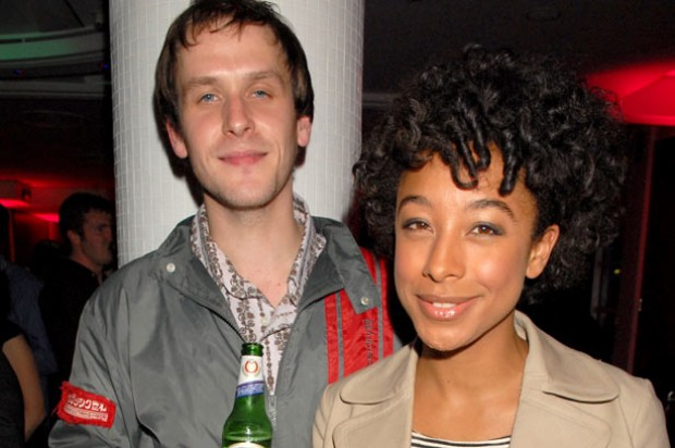 Corinne Bailey Rae with husband Jason Rae
