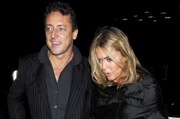 Patsy Kensit and Jeremy Healy have split