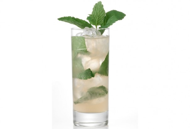 Fruit flower cocktail