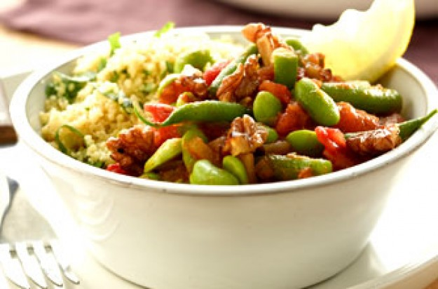 Summer vegetable tagine