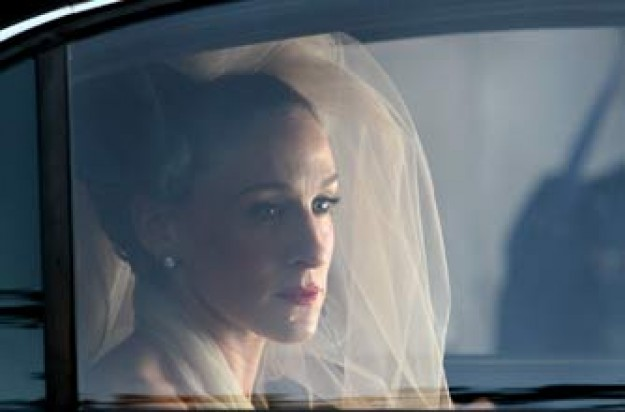 Carrie from SATC in her wedding dress_rex