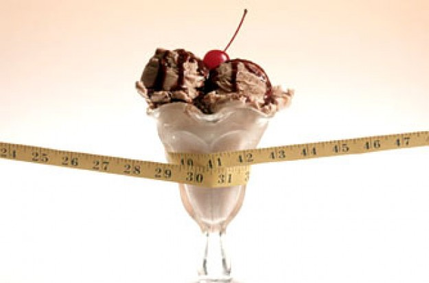 calorie counter, ice cream