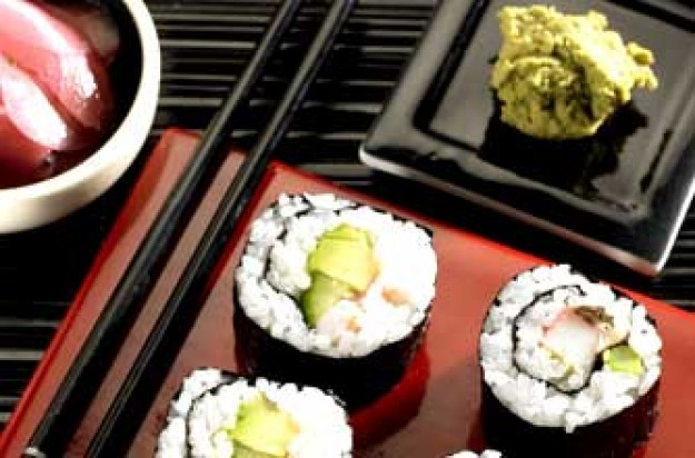 Avocado And Prawn Sushi Rolls Woman 39 S Weekly Recipe