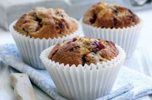 Chocolate and strawberry muffin recipe