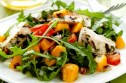 Exotic chicken and mango salad