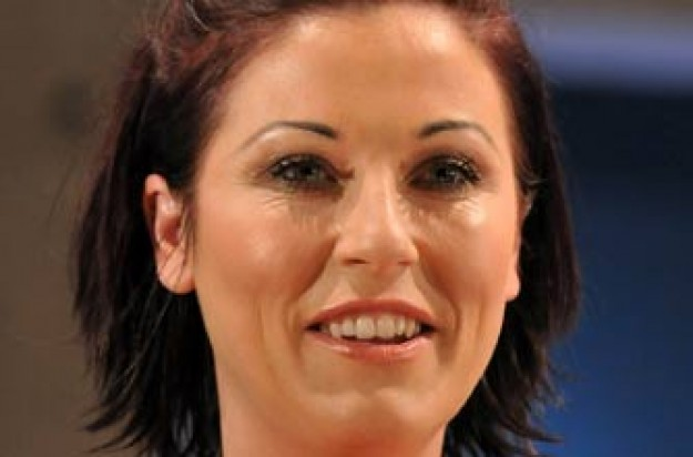 Jessie Wallace's new look