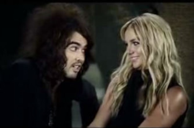 Watch Britney Spears and Russell Brand's MTV Awards clip - it's hysterical!
