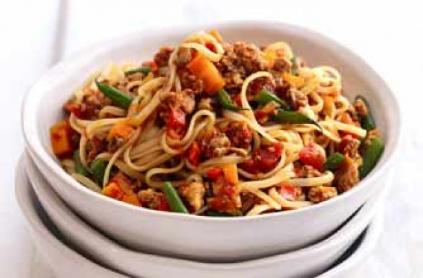 12 spaghetti Bolognese recipes with a twist - Spaghetti with pork ...