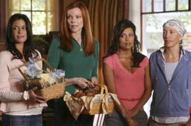Susan, Bree, Lynette and Gabrielle in Desperate Housewives