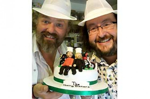 Hairy Bakers Episode 4, Celebration cakes_BBC Pictures