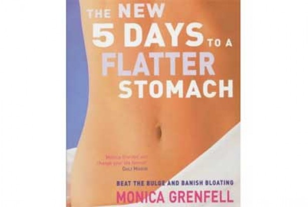 The new 5 days to a flatter stomach by Monica Grenfell