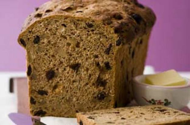 Walnut and raisin loaf