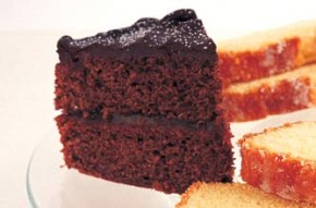 Mary Berry's three cakes in one - chocolate cake
