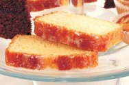 food, Mary Berry's three cakes in one - lemon drizzle loaf
