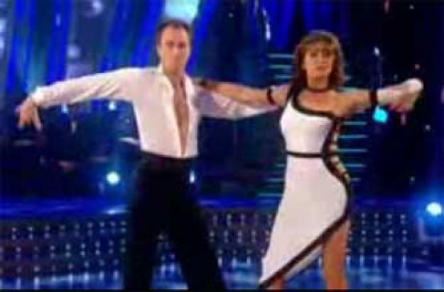 Cherie Lunghi on Strictly Come Dancing