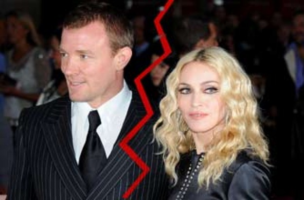 Madonna and Guy Ritchie are said to be getting divorced