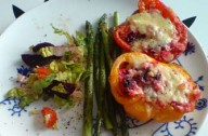 Mary Jone's stuffed peppers