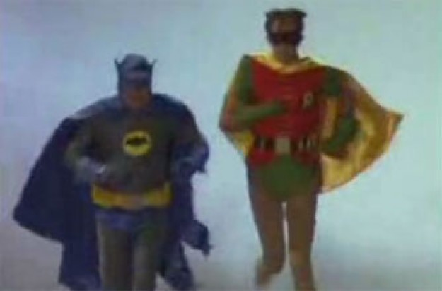 Only Fools and Horses Batman and Robin