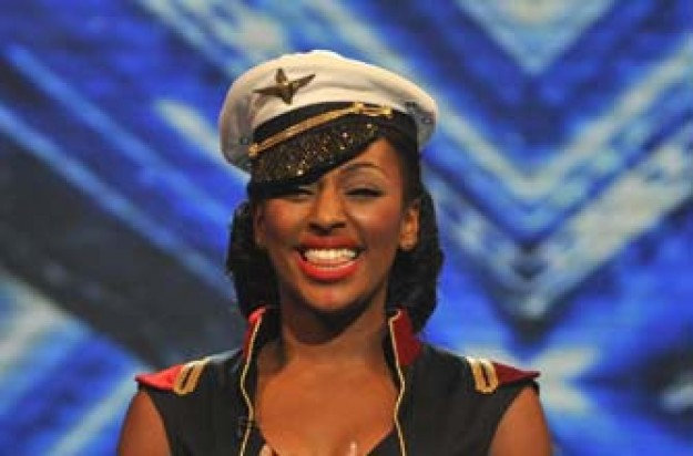 Alexandra Burke from the X Factor
