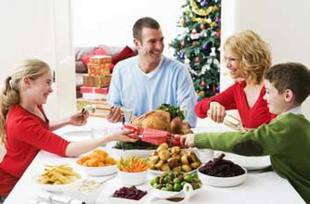 Christmas family dinner_Photolibrary