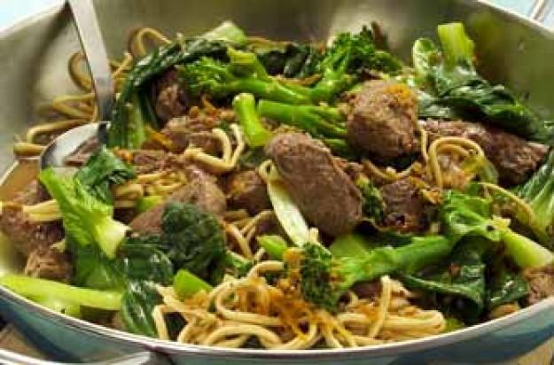 Szechuan venison stir-fry