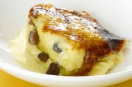 Gary Rhodes' bread and buttery pudding