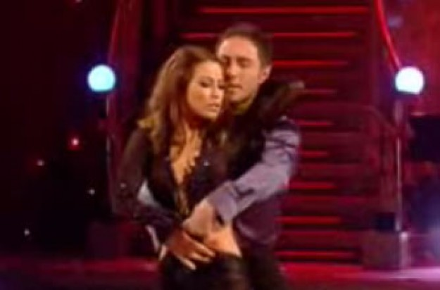 Rachel Stevens on Strictly Come Dancing