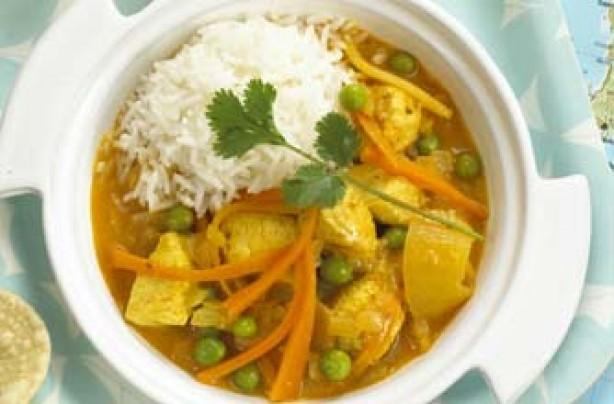 Annabel Karmel's fruity chicken curry