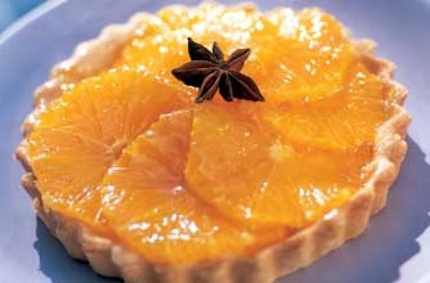 Tana Ramsay's clementine tart