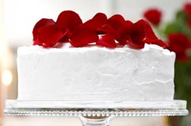 Rachel Allen's walnut wedding cake