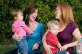 Mothers meeting up with their kids_istock